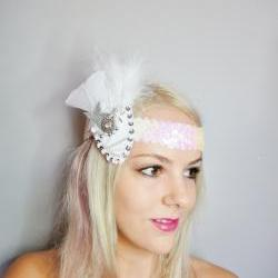 1920s Star and Feather Headband